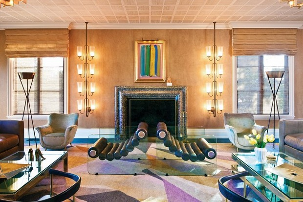 Iconic Living Room Projects by Kelly Wearstler