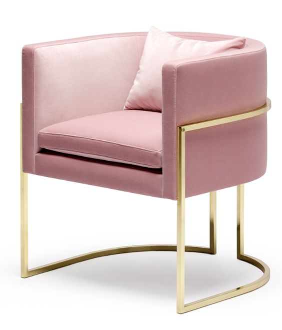 Modern And Sophisticated Gold Chairs