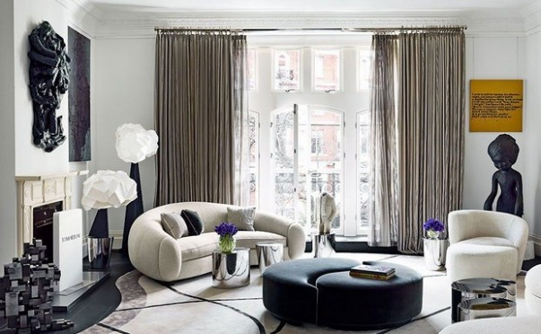 11 Living Rooms by India Mahdavi You Can't Miss Velvet Sofas Get a Spring living room with Velvet Sofas Room Decor Ideas 11 Living Rooms by India Mahdavi You Can   t Miss Luxury Homes 14 e1456851488441 603x372