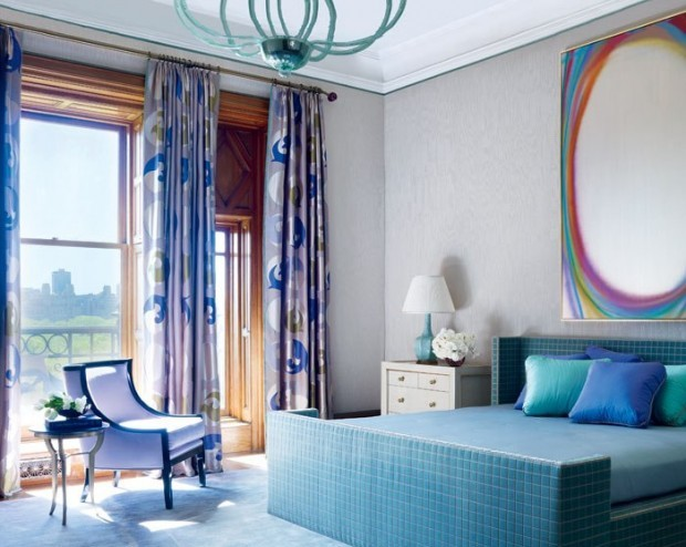 Jamie Drake's Colorful Bedrooms for Summer Jamie Drake's Colorful Bedrooms Jamie Drake's Colorful Bedrooms for Summer Room Decor Ideas Jamie Drake   s Colorful Bedrooms for Summer 2016 Summer Bedroom Design 6 e1458044430501