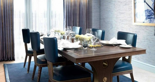 The Most Elegant Dining Rooms by David Collins Dining Rooms by David Collins The Most Elegant Dining Rooms by David Collins Room Decor Ideas Luxury Homes The Most Elegant Dining Rooms by David Collins Dining Room Design 10 603x320
