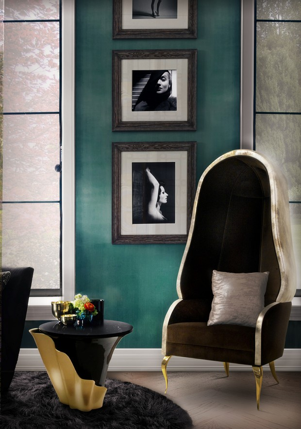 Trendy Side Table Designs to use on Hallway Trendy Side Table Designs Trendy Side Table Designs to use on Hallway Room Decor Ideas Trendy Side Table Designs to use on Hallway Luxury Interior Design Hallway Design Yasmine Side Table by KOKET 1
