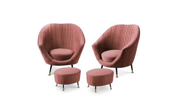 Trend Alert: Vintage Chairs for a Spring Living Room Vintage Chairs Trend Alert: Vintage Chairs for a Spring Living Room Room Decor Ideas Vintage Chairs for Spring Living Room High End Furniture Audrey Chair by KOKET