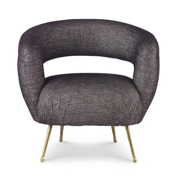 Trend Alert: Vintage Chairs for a Spring Living Room Vintage Chairs Trend Alert: Vintage Chairs for a Spring Living Room Room Decor Ideas Vintage Chairs for Spring Living Room High End Furniture Laurel Chair by Kelly Wearstler