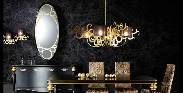 decorate with black and gold How to Decorate with Black and Gold bg5 room decor ideas