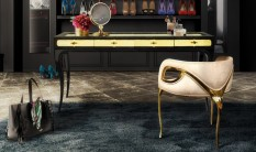 Luxury Dressing Tables Luxury Dressing Tables to Improve the Bedroom Design eternity chandelier chandra chair exotica desk koket projects 233x138