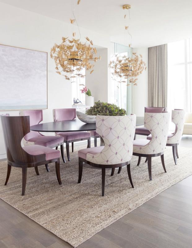 Color Addiction: Rose Quartz rose quartz Color Addiction: Rose Quartz nymph chandelier 1 koket projects