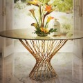 Elegant Entryway Table Designs The Most Elegant Entryway Table Designs vivre chandelier allure dining table enchanted chair koket projects e1460036392250 120x120