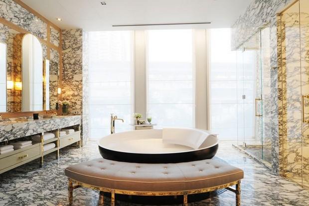 Bathroom designs by david collins to inspire you room decor ideas - Decorative stone for bathrooms seven design inspiring ideas ...