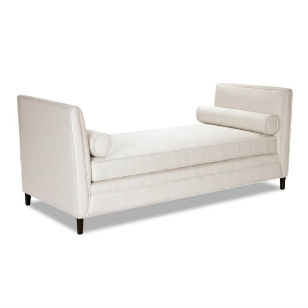 This chic daybeds design is simple but modern, and can match any decor.