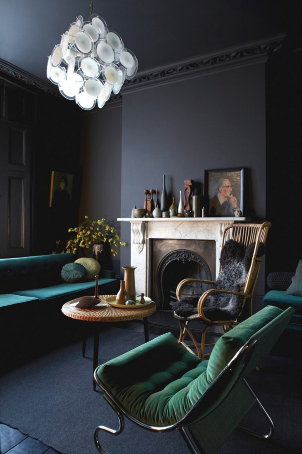 7 Tips to Decorate your Home with Dark Colors