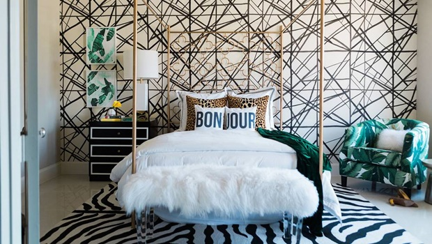 beautiful bedrooms by kelly wearstler Beautiful Bedrooms by Kelly Wearstler to Copy this Summer Room Decor Ideas Beautiful Bedrooms by Kelly Wearstler to Copy this Summer Luxury Bedroom Luxury Interior Design Bedroom Ideas 8 1
