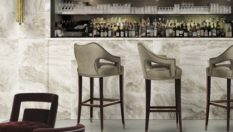 Modern Bar Stools Modern Bar Stools to Improve your Kitchen Decor brabbu ambience press 52 HR 233x132