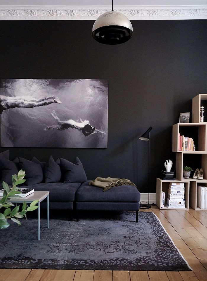 Black Living Room Ideas for Your Inspiration