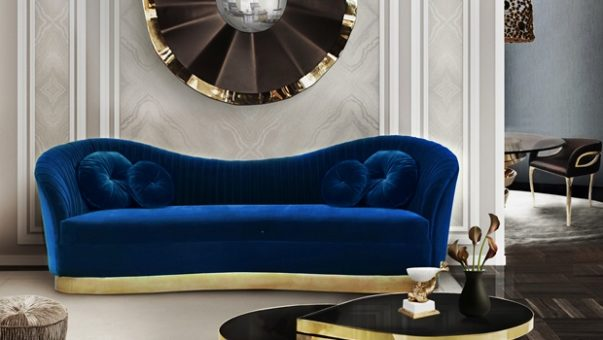 Stylish Accessories to a Bold Living Room The Most Stylish Accessories to a Bold Living Room reve mirror kelly sofa tears cocktail table koket projects1 603x340