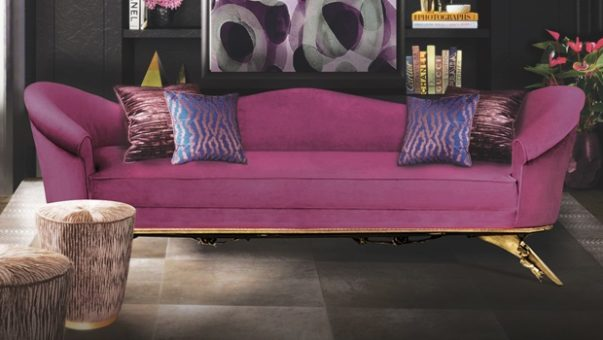 Velvet Sofas Get a Cheerful Room Decoration during Winter with Velvet Sofas Room Decor Ideas Get a Cheerful Room Decoration during Winter with Velvet Sofas Luxury Sofas Sofa Design Luxury Interior Design Living Room 603x340