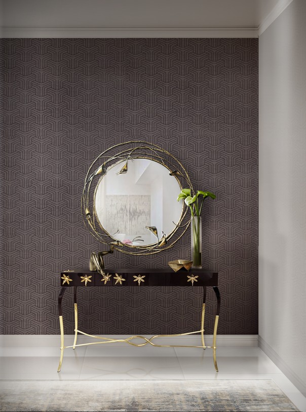 Home Decor Trends: Get the Modern American Glamour at Home home decor trends Home Decor Trends: Get the Modern American Glamour at Home Room Decor Ideas Home Decor Trends Get the Modern American Glamour at Home Luxury Interior Design Luxury Homes Home Interiors Hallway Design by KOKET