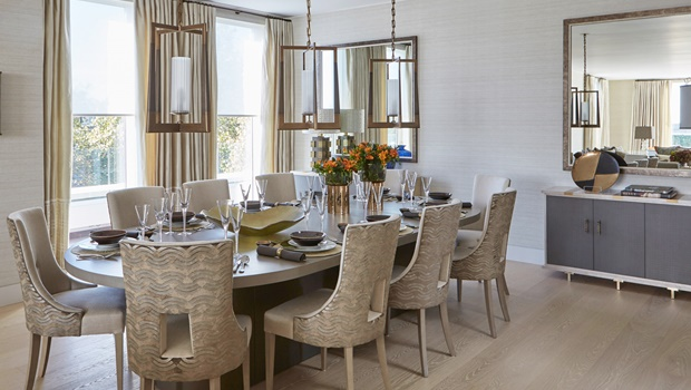 Dining Room by Helen Green How to Get a Glamorous Dining Room by Helen Green Room Decor Ideas How to Get a Glamorous Dining Room by Helen Green Luxury Homes Luxury Interior Design Dining Room Design 11