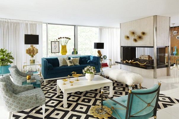 decorating styles for living room living rooms by jonathan adler that bring color to winter 21850