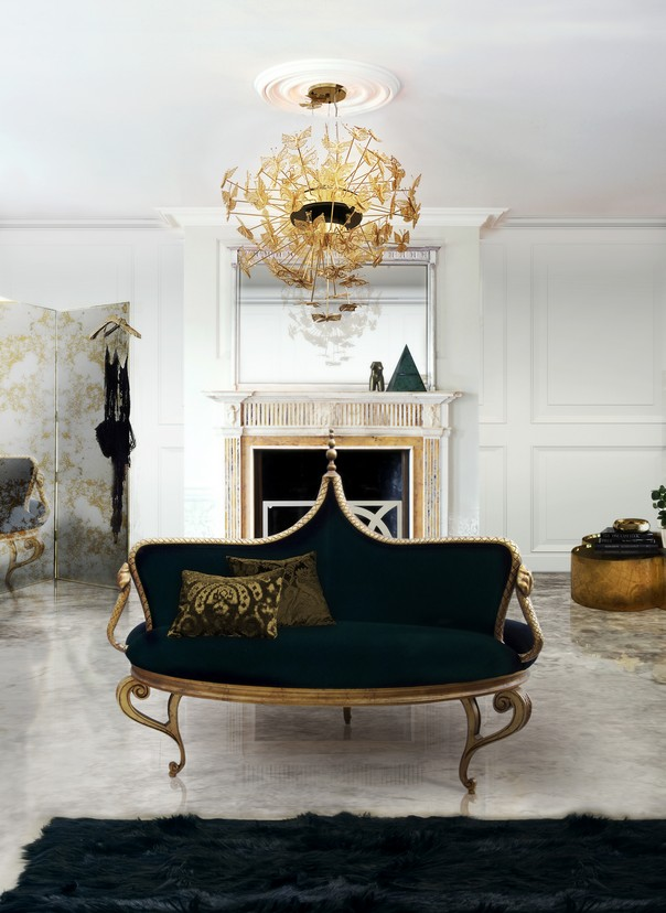 The Best Lighting Choices to Enhance a Living Room Design Living Room Design The Best Lighting Choices to Enhance a Living Room Design Room Decor Ideas The Best Lighting Choices to Enhance a Living Room Design Nymph Chandelier by KOKET1