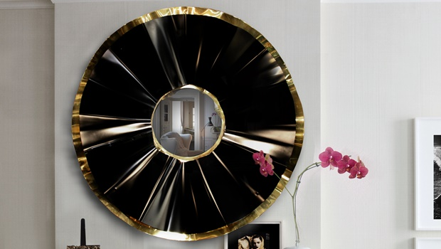 Luxury Interior Design 15 Rooms with a Luxury Interior Design in Black & White reve mirror koket projects
