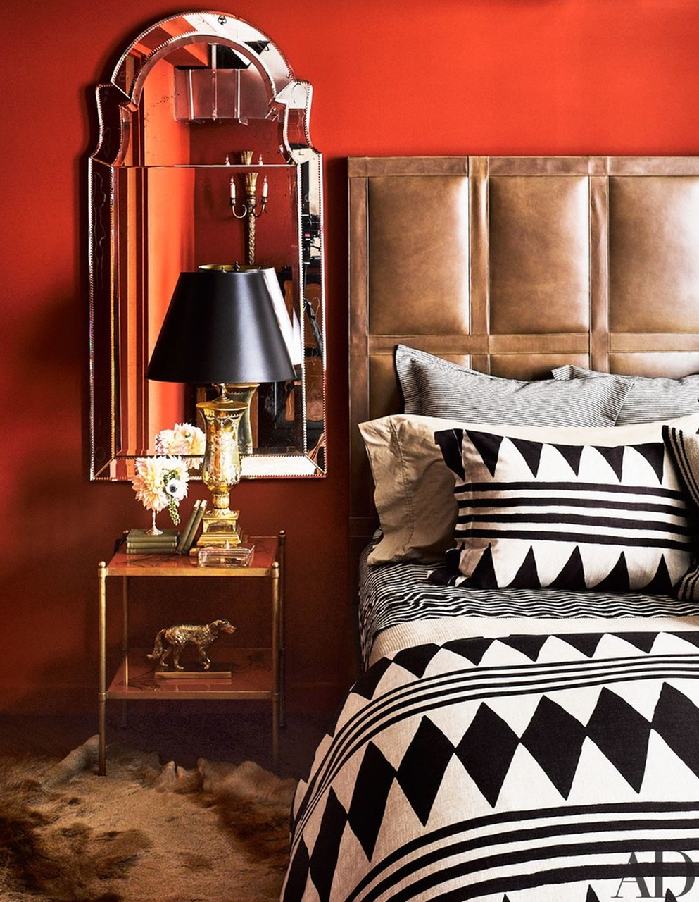 Master Bedrooms 20 Best Master Bedrooms of 2016 by Architectural Digest 10 Best Master Bedrooms of 2016 Ken Fulk Manhattan loft Easy Resize