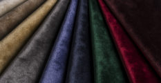 fabric trends Be Inspired with this Fabric Trends for 2017 Be Inspired with Fabric Trends for 2017 velvet colors 233x120