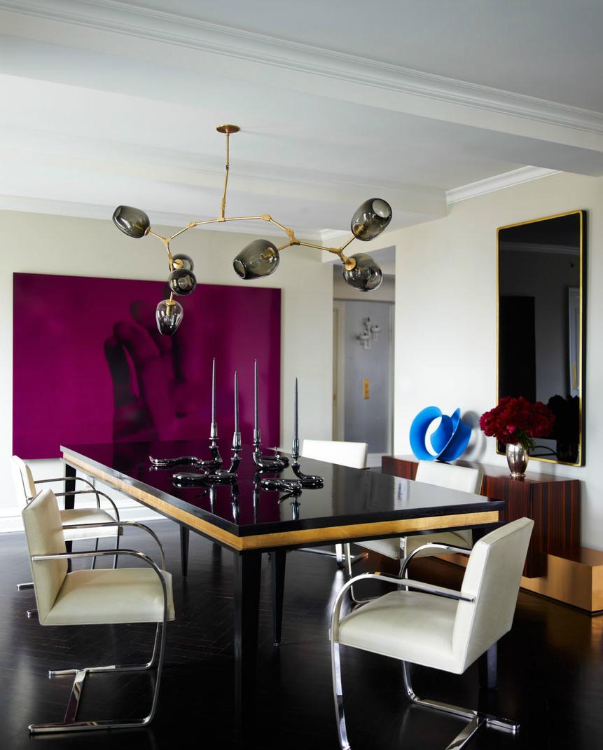 Celebrity Homes: Ivanka Trump Stylish Apartment in Manhattan Dining Room