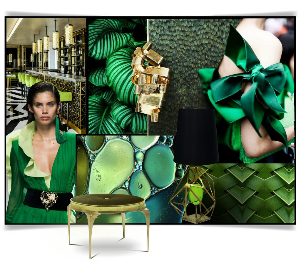 Greenery Decoration Trends Color Of The Year 2017