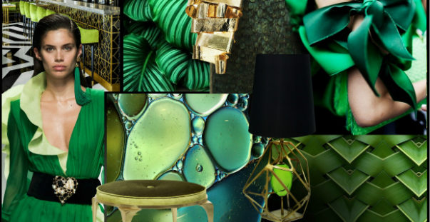 color of the year 2017 Greenery Decoration: Color of The Year 2017 Interior Design Color Trends 2017 Pantone fashion trends greenery Decoration 603x311