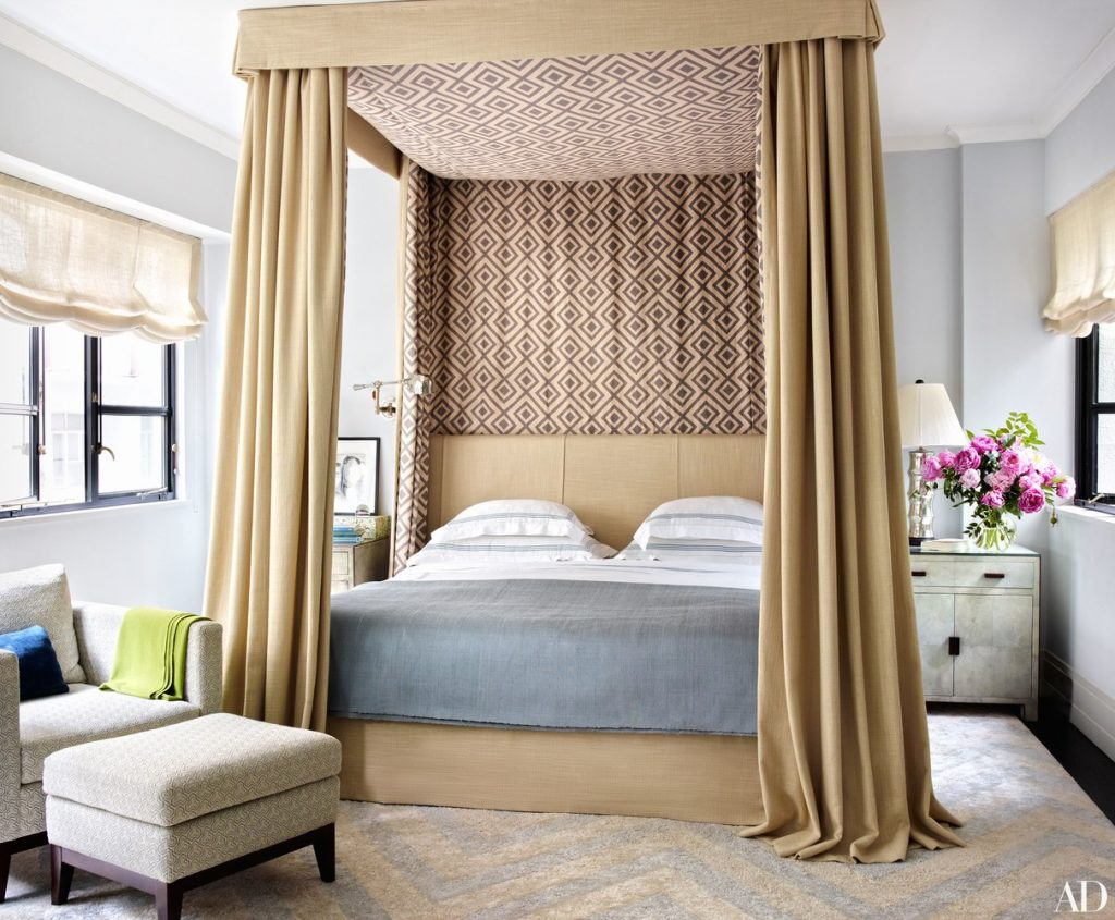 20 Best Master Bedrooms of 2016 by Architectural Digest ... on Best Master Bedroom Designs  id=90636