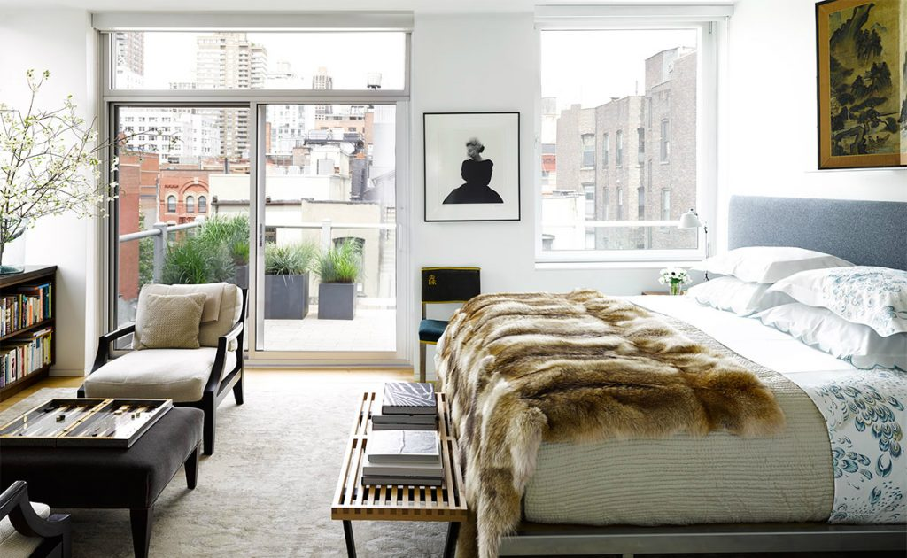 Bedroom Ideas: 10 Steps to Get the Perfect Bedroom Decor fur throw