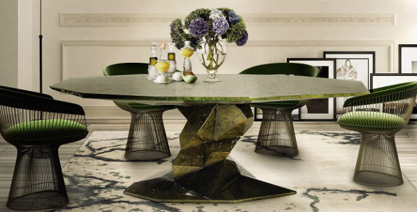 dining room 2017 Most Wanted Trends for a Dining Room 2017 dining room 2017 2 603x307