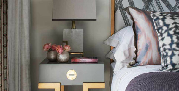 table lamps Stylish Ways to Light Your Bedside With Table Lamps How to style a bedside table 603x306