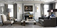 Jean-Louis Deniot Jean-Louis Deniot New Family French Style Apartment JeanLouisDeniot p256 257 233x118