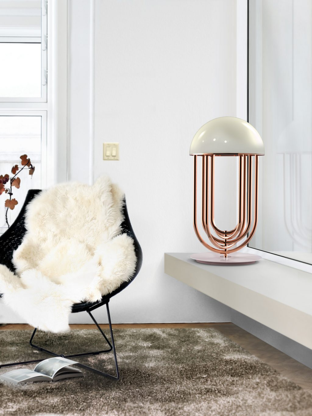 Stylish Ways to Light Your Bedside With Table Lamps 4