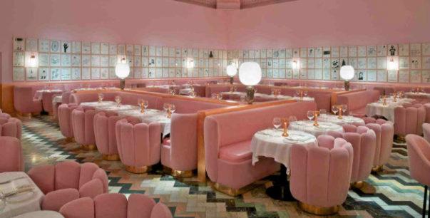 minimal pink trend Interior Design Minimal Pink Trend Interior Design Minimal Pink Trend 15 603x306