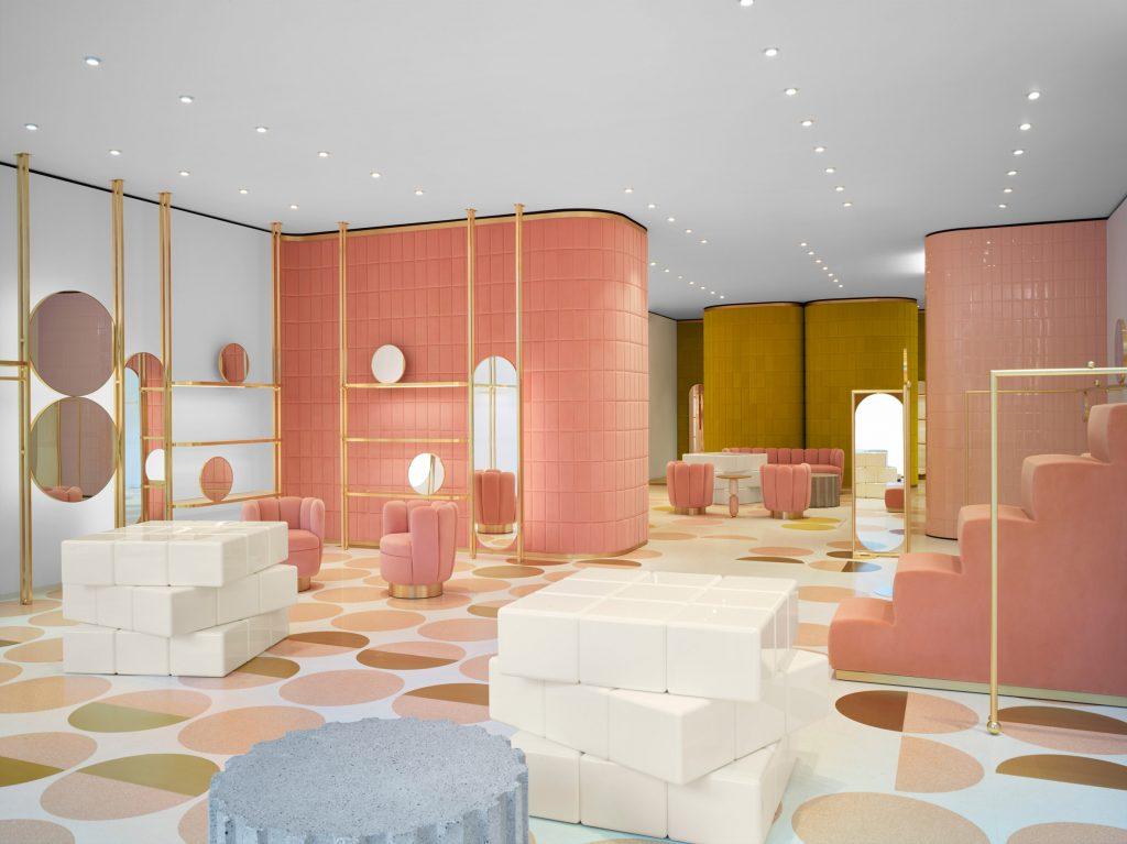 minimal pink trend Interior Design Minimal Pink Trend Interior Design Minimal Pink Trend 3