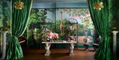 wallpaper collection Magical Wallpaper Collection by de Gournay & Ken Fulk Fulk Kips Bay 80fet 233x119