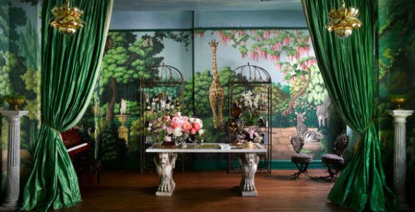 wallpaper collection Magical Wallpaper Collection by de Gournay & Ken Fulk Fulk Kips Bay 80fet 603x308