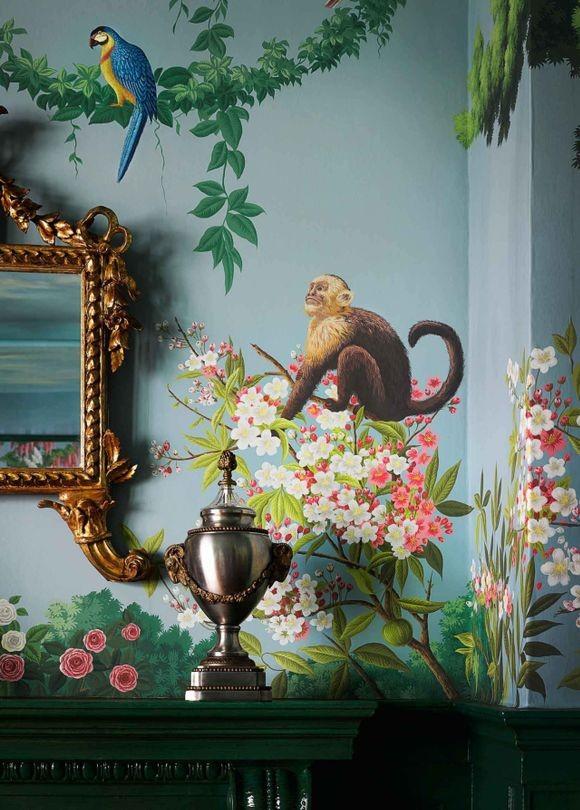 wallpaper collection Magical Wallpaper Collection by de Gournay & Ken Fulk Magical Wallpaper Collection by de Gournay Ken Fulk 2