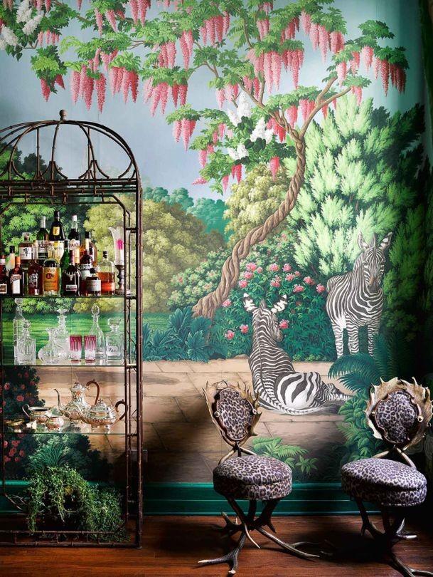 wallpaper collection wallpaper collection Magical Wallpaper Collection by de Gournay & Ken Fulk Magical Wallpaper Collection by de Gournay Ken Fulk 9