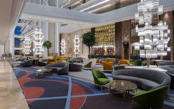 Meet The Hilton Astana, a Luxury Hotel Furnished by Brabbu  Hilton Astana Meet The Hilton Astana, a Luxury Hotel Furnished by Brabbu Meet The Hilton Astana a Luxury Hotel Furnished by Brabbu 4