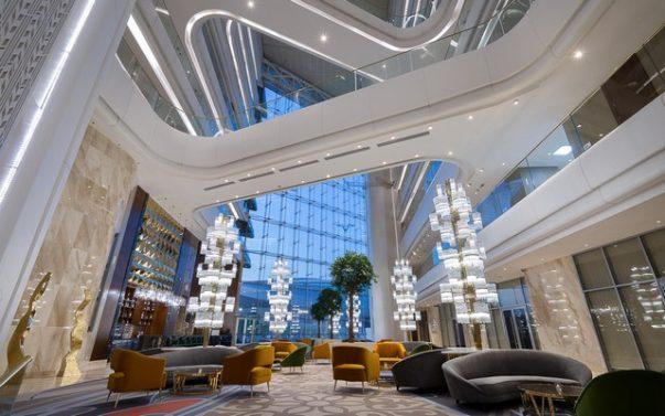 Meet The Hilton Astana, a Luxury Hotel Furnished by Brabbu