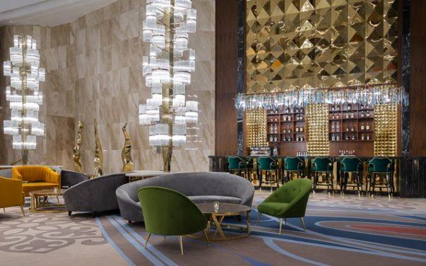Meet The Hilton Astana, a Luxury Hotel Furnished by Brabbu  Hilton Astana Meet The Hilton Astana, a Luxury Hotel Furnished by Brabbu Meet The Hilton Astana a Luxury Hotel Furnished by Brabbu 6