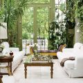 Interior Garden 10 Incredibly Good Room Ideas for an Interior Garden Amazing Home Indoor Design Decorating Ideas In A Living Room Sun Room Look Fresh Room Also White Sofa Glass Table Statue And White Tiles 120x120