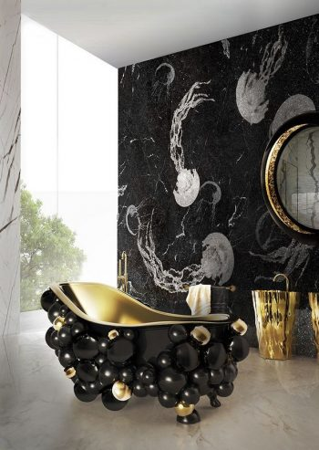 Luxury Bathroom Design Ideas 10 Cool and Stylish Black Luxury Bathroom Design Ideas Room Decor Ideas Bathroom Ideas Luxury Bathroom Black Bathroom Design Luxury Interior Design 7 350x493