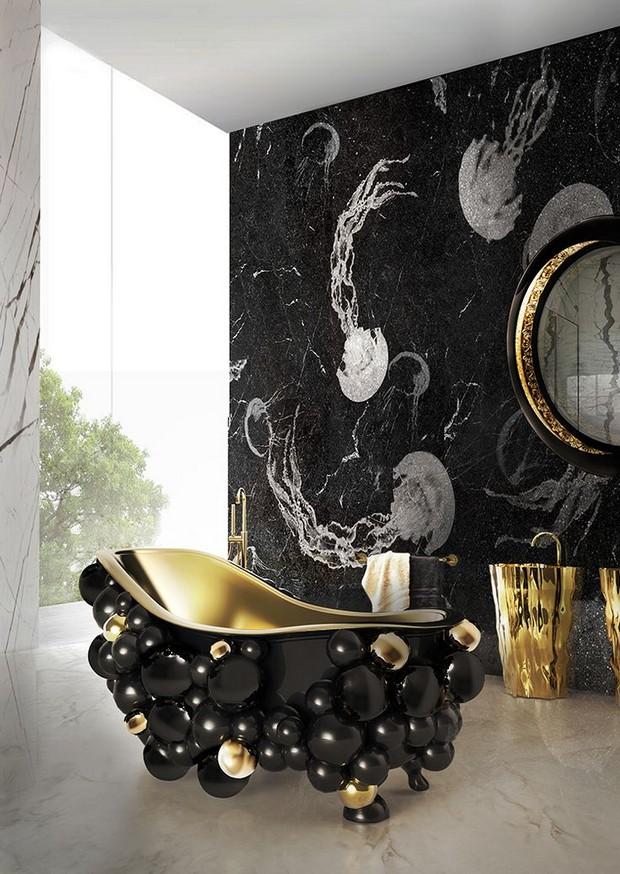 Luxury Bathroom Design Ideas 10 Cool and Stylish Black Luxury Bathroom Design Ideas Room Decor Ideas Bathroom Ideas Luxury Bathroom Black Bathroom Design Luxury Interior Design 7