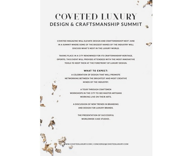 You Can't Miss the CovetED Luxury Design & Craftsmanship Summit 2018 Luxury Design You Can't Miss the CovetED Luxury Design & Craftsmanship Summit 2018 You Cant Miss the CovetED Luxury Design Craftsmanship Summit 2018 2