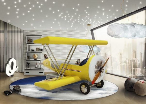 Kids Bedroom Decor This AIrplane Bed Is Perfect For Your Kids Bedroom Decor Kids Bedroom Ideas The Perfect Airplane Bed for your Little Ace 2 603x431